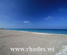 Kremasti Beach | Island Rhodes | Greece
