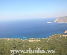 Monolithos Beach | Island Rhodes | Greece