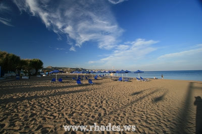 FALIRAKI BEACH - RHODES, GREECE