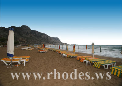 TSAMBIKA BEACH - RHODES, GREECE