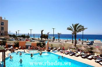 Hotel Blue Sky | Rhodes Town | Island Rhodes | swimming pool