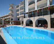 Pool of Hotel Panorama in Rhodes town- Rhodes - Greece