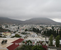 Archangelos Rhodes from the hill