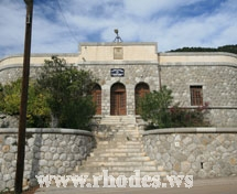 The old police station of Mololithos in Rhodes - Greece