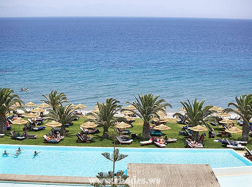Hotel The Ixian Grand |Ixia | Island Rhodes |Hotel Beach